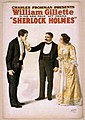 William Gillette - Sherlock Holmes poster 2.jpg