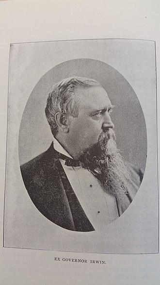 William Irwin (California politician) - Image: William Irwin