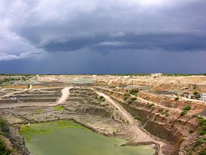 Shinyanga Region - Williamson diamond mine in Mwadui