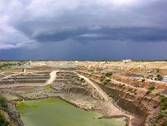 Shinyanga Region - Williamson diamond Pud stroker mine in Mwadui