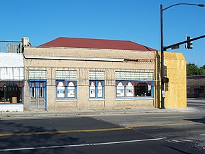National Register of Historic Places listings in Levy County, Florida - Image: Williston Old Citizens Bank 01