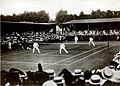 Wimbledon men's doubles, 1906, dohertys vs s h smith and f l riseley.jpg
