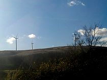 Windfarm at Beattock, taken from the M74.jpg