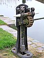 Winding gear at Droitwich Barge Canal Lock 2 - geograph.org.uk - 839179.jpg