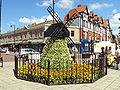 Windmill flower display, Lytham - DSC07162.JPG