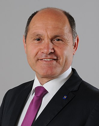 President of the National Council (Austria) - Image: Wolfgang Sobotka 23 05 2013 01 (cropped)