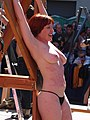 Woman whipped at Folsom Street Fair 2010.jpg