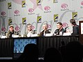 WonderCon 2011 - Terra Nova panel with director Alex Graves, executive producer Brannon Braga, and stars Stephen Lang and Jason O'Mara (5596529439).jpg