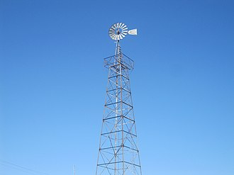 Lamb County, Texas - Image: World's tallest windmill, Littlefield, TX IMG 4779