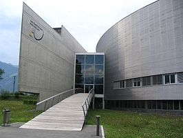 Het World Cycling Centre te Aigle