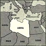 World Factbook (1982) Libya.jpg