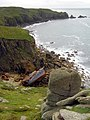 Wreck of RMS Mulheim, Castle Zawn - geograph.org.uk - 943028.jpg