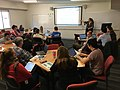 Writing for Wikipedia with the Visual Editor workshop at ANU.jpg