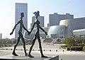 Wu Shaoxiang, Walking Wealth 2009, bronze, height 200cm, Collection of Jiang Xi Art Museum, Nanchang, China.jpg
