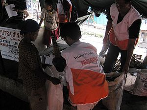 World Vision International - WV relief effort in disaster affected areas