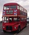 Wych Cross Garden Centre Routemaster bus RML2468 (JJD 468D) Brighton Pier, 16 May 2009 cropped.jpg