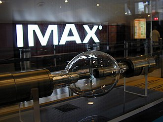 IMAX - The 15 kW Xenon short-arc lamp used in IMAX projectors.