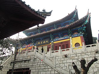 Xuzhou - The buildings of Xinghua Temple were erected from the Song dynasty onwards