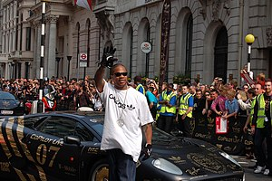 Fredwreck - Xzibit at the Gumball 3000 Rally, London 2007.