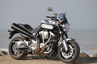 Yamaha MT-01 - Image: Yamaha MT 01 2006 model front right