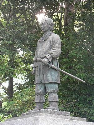 Yamato Takeru - The statue of Yamato Takeru at Ōtori Taisha