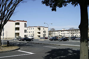 Yokota Air Base - Housing for unaccompanied personnel