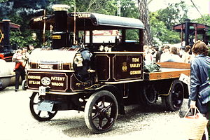 Tom Varley - Image: Yorkshire steam wagon, Pendle Queen