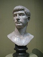 Young Roman, so called Junius Brutus (casting in Pushkin museum after Musei Capitolini original, 1st c) by shakko 01.jpg