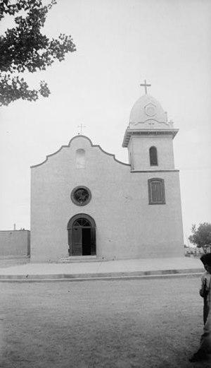Ysleta Mission - Image: Ysleta Mission Front 1936