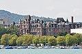 Zürich - Enge - Rotes Schloss - Utoquai IMG 5742.JPG
