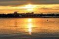 Zachód słońca na nabrzeżu Angary w Irkucku 07.JPG