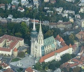 Ribnjak, Zagreb - Southern part of Ribnjak