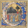 Zanobi Strozzi, Initial Q with a Procession of Children, c. 1430s, NGA 75789.jpg