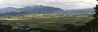 Zeltweg - View from the north