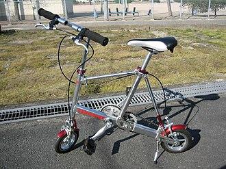 Portable bicycle - Image: Zerobike 01