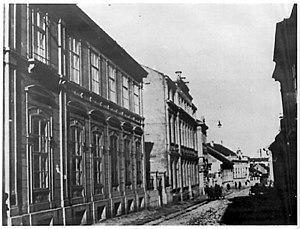 Srpska književna zadruga - Old building of Royal Academy