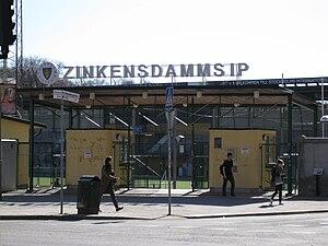 Zinkensdamms IP - Image: Zinken 2