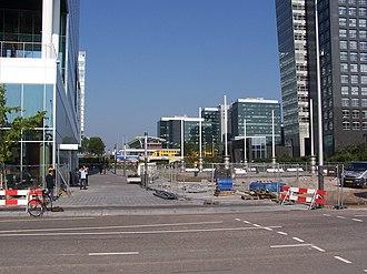 Amsterdam Zuid station - Image: Zuidas 1