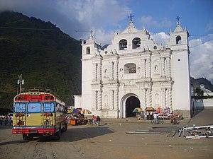 Zunil - Image: Zunil church