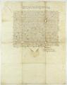 Zygmunt II August król polski, zarząda, aby transport towarów odbywał się drogą prowadzącą do Gdańska przez Nakło i Tucholę..png