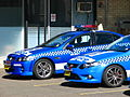"""Bruce"" BK 227 and new FG Falcon XR6 Turbo - Flickr - Highway Patrol Images.jpg"