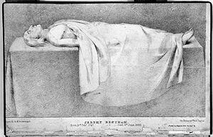 Jeremy Bentham - Public dissection