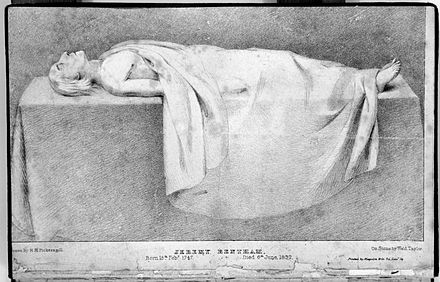 "Bentham's Public dissection ""Mortal Remains"" of Jeremy Bentham, 1832 Wellcome L0007730.jpg"