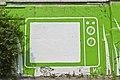 """""""Télévision"""" utilisée pour projections en plein air, Parc Pigeon Hole (5955838234).jpg"""