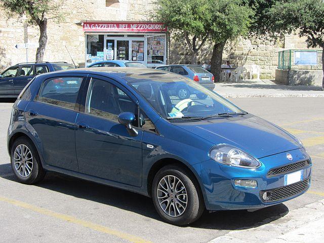 """"""" 12 - ITALY- Fiat Punto 2012"""