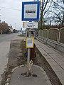 'Isaszeg, Vasútállomás bejárati út' bus stop, 2019 Isaszeg.jpg