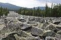 «Stone river» near Iremel mountain (1582 m), Sout Ural, Bashkiria - panoramio.jpg