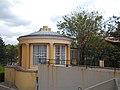 Áldásy house, now Theatre Museum. Backyard pavilion. - Budapest District I.JPG