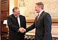 Συνάντηση Αντιπροέδρου της Κυβέρνησης και ΥΠΕΞ Ευ. Βενιζέλου με Πρέσβη ΗΠΑ (9402037962).jpg