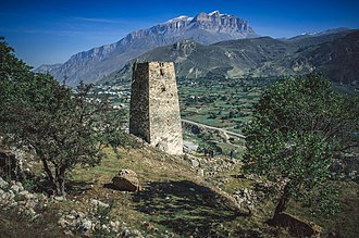 Kabardino-Balkaria - Cherek-Balkarskaya gorge